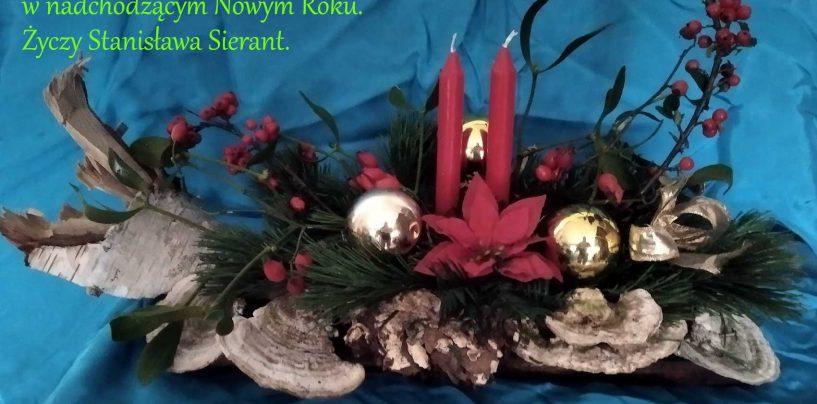 Życzenia świąteczne, stroiki 2019/2020